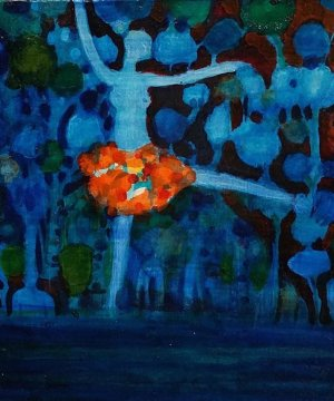 Lyndal Campbell | Dance in Blue